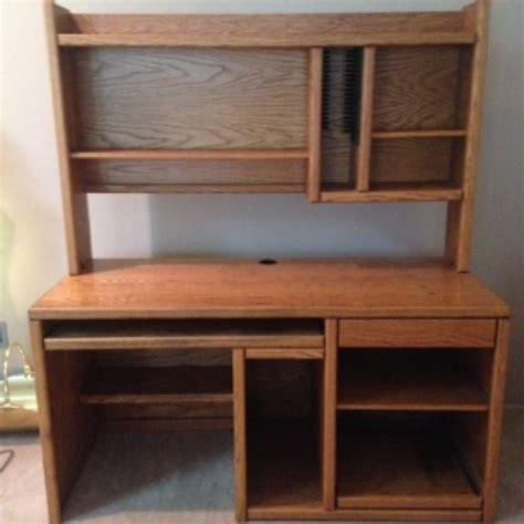 oak desk with hutch oak computer desk and hutch washington 98001 50