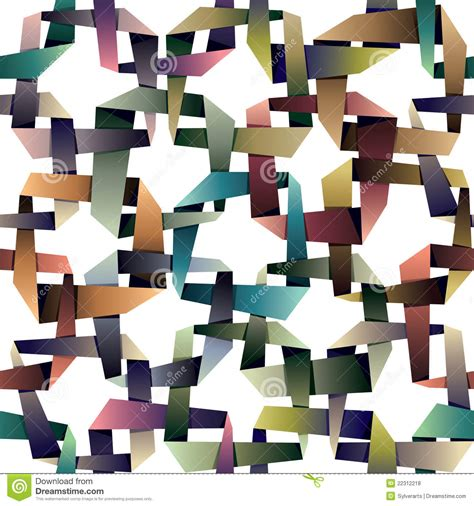 origami style origami style seamless pattern royalty free stock photos