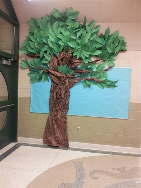 tree paper decorations 25 best ideas about paper tree classroom on