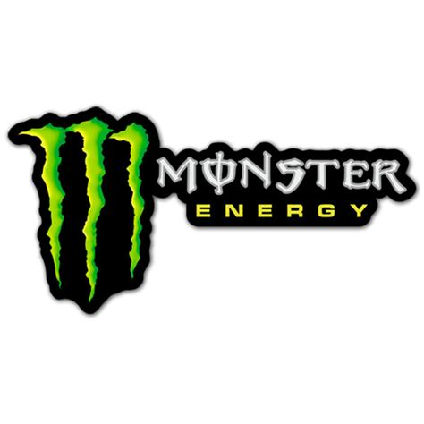 Monster Energy Sticker Truck by Monster Energy Logo Sticker