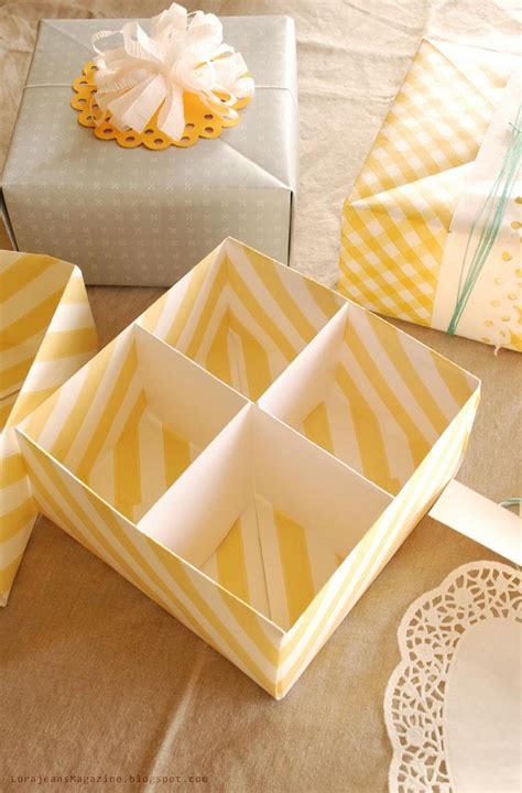 how to make a origami gift box make your own gift box with lid tutorial picture