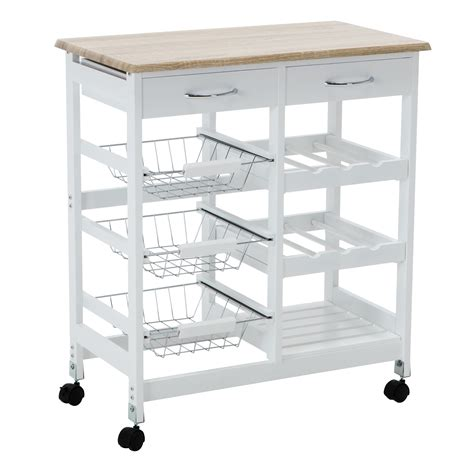 kitchen island rolling cart oak kitchen island cart trolley portable rolling storage dining table 2 drawers