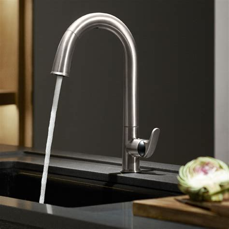 touchless faucet kitchen kohler k 72218 vs sensate touchless kitchen faucet