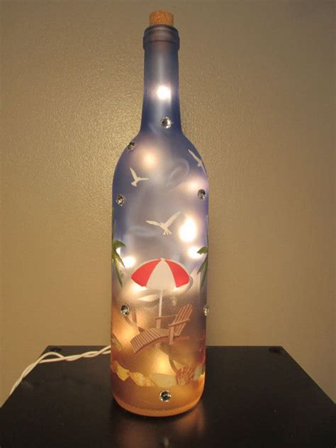 lights inside wine bottle 25 best ideas about lighted wine bottles on
