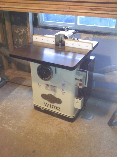 shop fox woodworking review a great 3 hp shaper by dustin lumberjocks