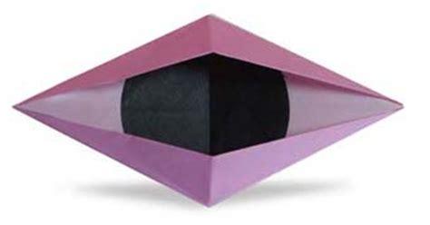 eye origami origami blinking eye