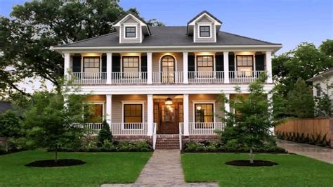 1 Story House Plans house plans two story wrap around porch youtube