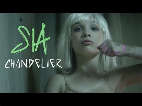 song chandelier sia sia chandelier lyrics on screen hq official audio
