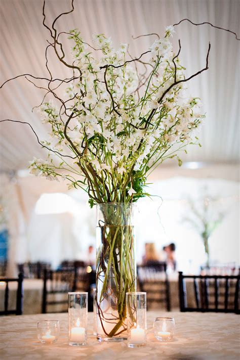 wonderful photos of wedding centerpieces with branches