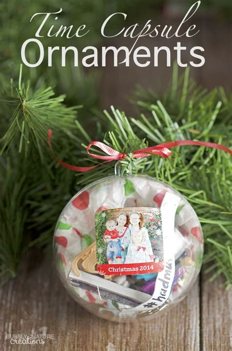time ornaments time capsule ornament sprinkle some