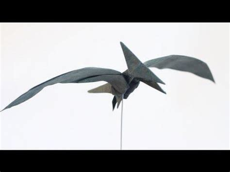pterodactyl origami rt origami kids how to make an origami pterodactyl
