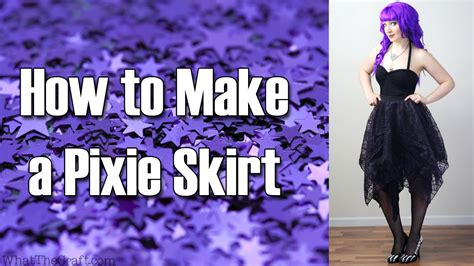 what to make with diy fashion tutorial how to make a pixie skirt