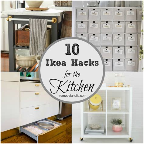 hack ikea 10 ingenious ikea hacks for the kitchen remodelaholic