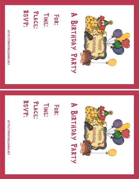 make my own invitation cards for free top 15 free printable birthday invitations for boys