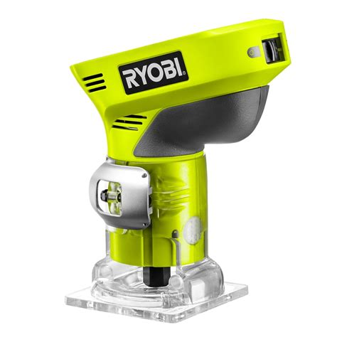 cordless routers woodworking ryobi one 18v cordless trim router skin only bunnings