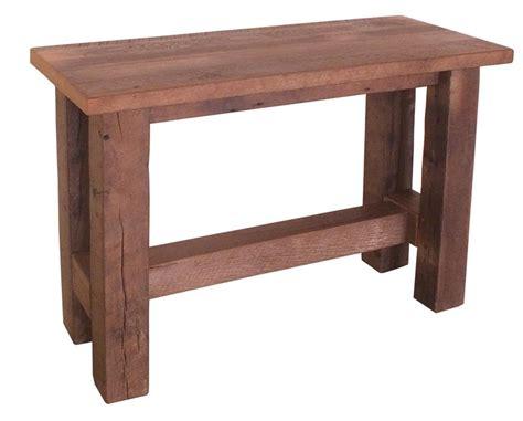 wood sofa table provence reclaimed wood sofa table buy