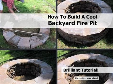 cool firepit how to build a cool backyard pit