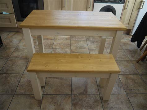 wooden kitchen tables wooden farmhouse kitchen dining table and 2 bench set