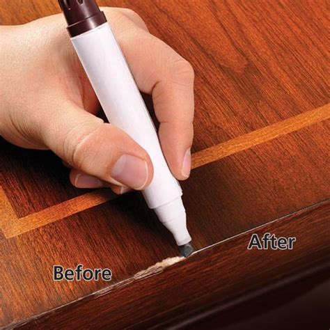 home depot touch up paint pen is your wood furniture scratched remove them easily with