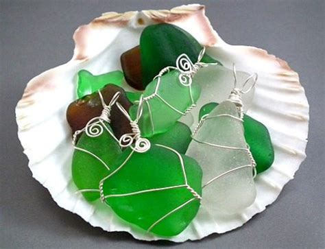 how to make sea glass jewelry how to make jewelry from sea glass bliss living