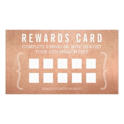 make your own punch cards reward punch card simple minimal trendy gold zazzle