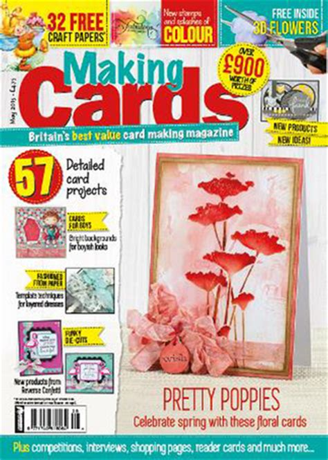 card magazine subscriptions cards magazine subscription isubscribe co uk