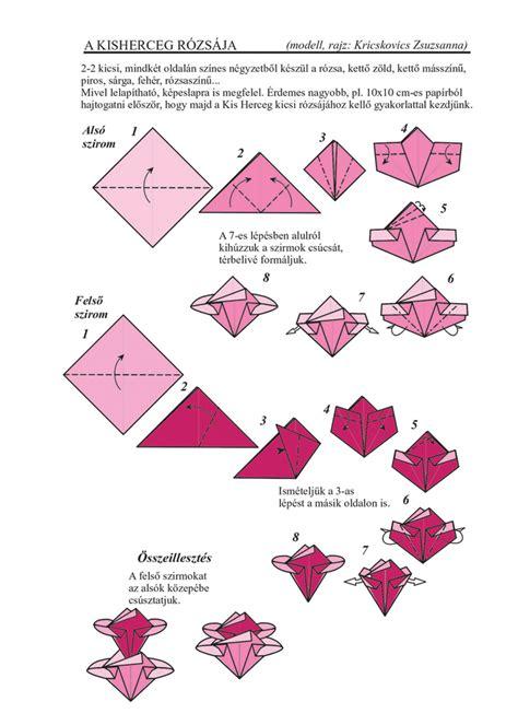 origami roses flower origami zsuzsiorigami