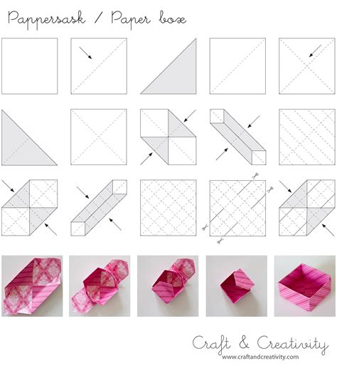 how to make origami containers diy origami paper box diy