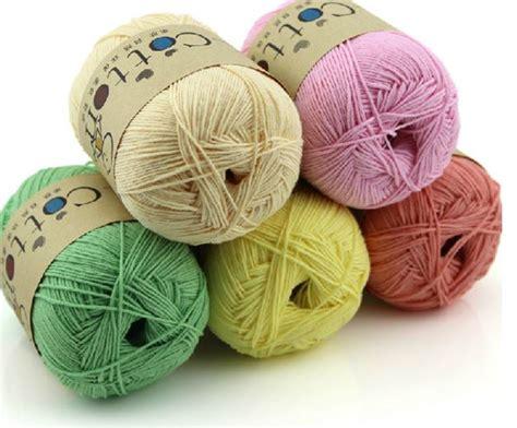 cotton yarn knitting aliexpress buy 100 cotton yarn for knitting 16s 3