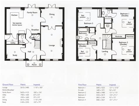 simple 4 bedroom floor plans 4 bedroom house floor plans home design ideas
