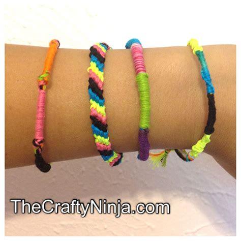 how to make hemp bracelets with how to make friendship bracelets diy the crafty