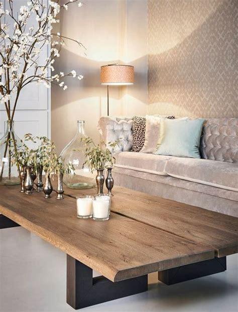 decoracion de mesas de salon las 25 mejores ideas sobre mesas auxiliares r 250 sticas en