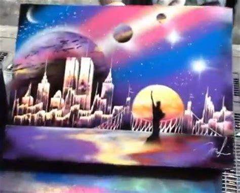 sidewalk spray paint in new york city 25 best ideas about spray paint artwork on