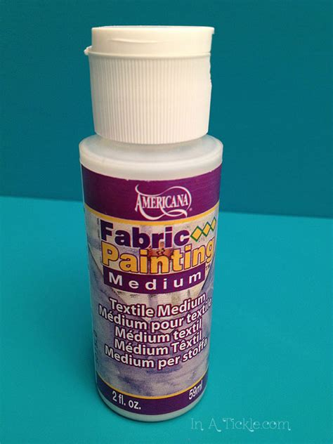 acrylic paint textile medium print your own fabric part 4 in a tickle