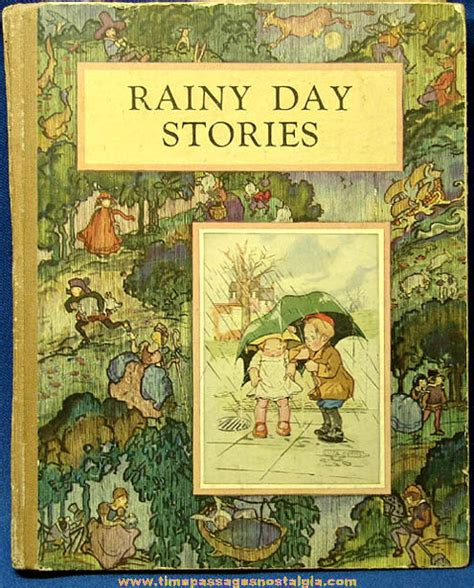 picture story book mcloughlin brothers rainy day childrens story book tpnc