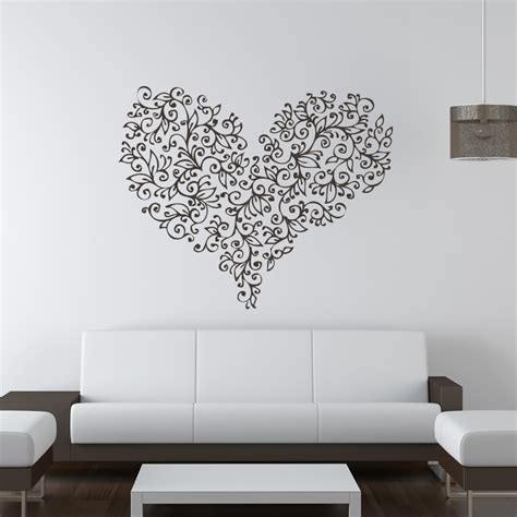 wall transfer stickers floral flowers wall stickers wall