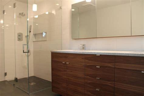 ikea kitchen cabinets bathroom vanity walnut ikea bathroom contemporary bathroom other