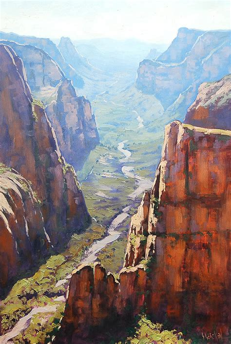 zion acrylic painting zion painting by graham gercken