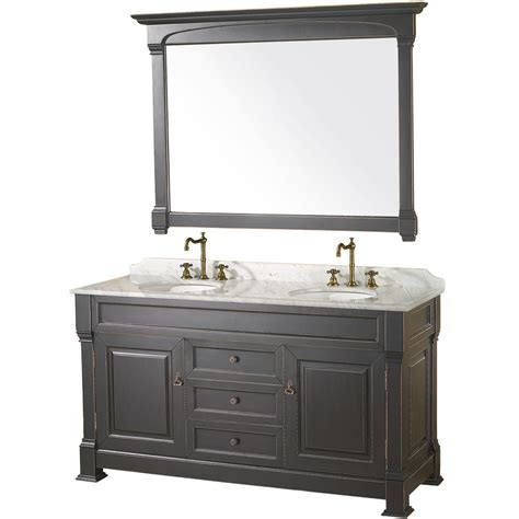 a bathroom vanity black bathroom vanity casual cottage