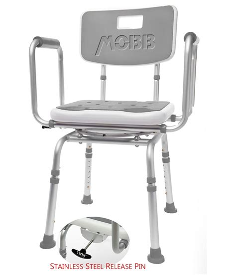 swivel shower chairs swivel shower chair 2 bath chair bathroom aid mobb