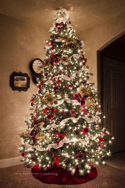 tree with lights and decorations most beautiful tree decorations ideas