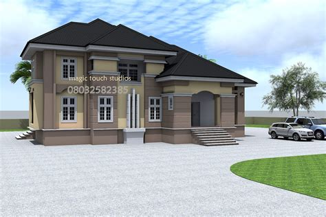 architectural plans for homes 5 bedroom split level bungalow residential homes and designs