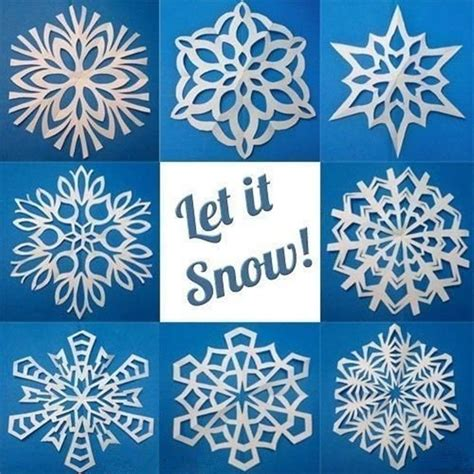 snowflakes paper craft 25 best ideas about snowflake template on