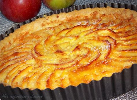 tarte aux pommes au beurre 224 la cannelle le cuisine de samar