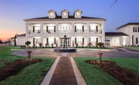 plantation style homes 20 000 square foot plantation style mansion in pilot point tx homes of the rich