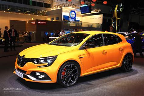 Renault Megane Rs by 2018 Renault Megane Rs Is The Best Hatchback At Iaa