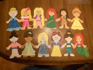 paper dolls craft disney princess paper doll craft crafts