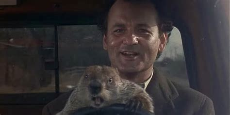 groundhog day uk tv how does bill murray spend trapped in groundhog day