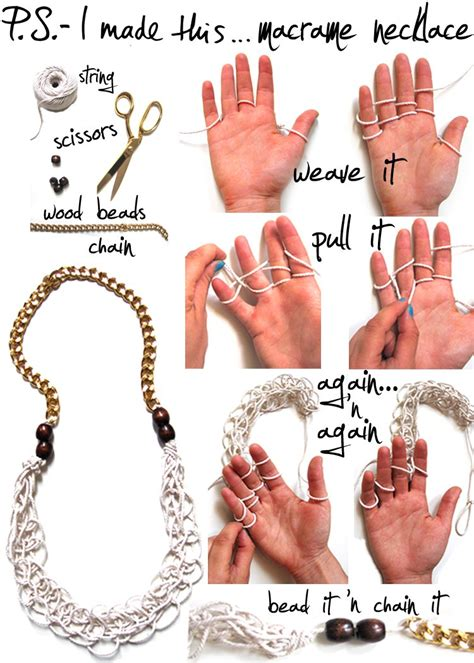 how to make diy jewelry diy jewelry 15 diy chain statement necklaces styles weekly
