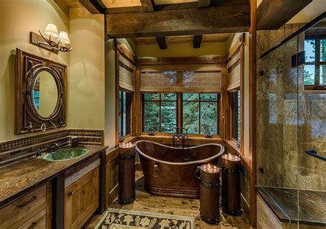 cabin bathroom ideas cabin bathroom ideas